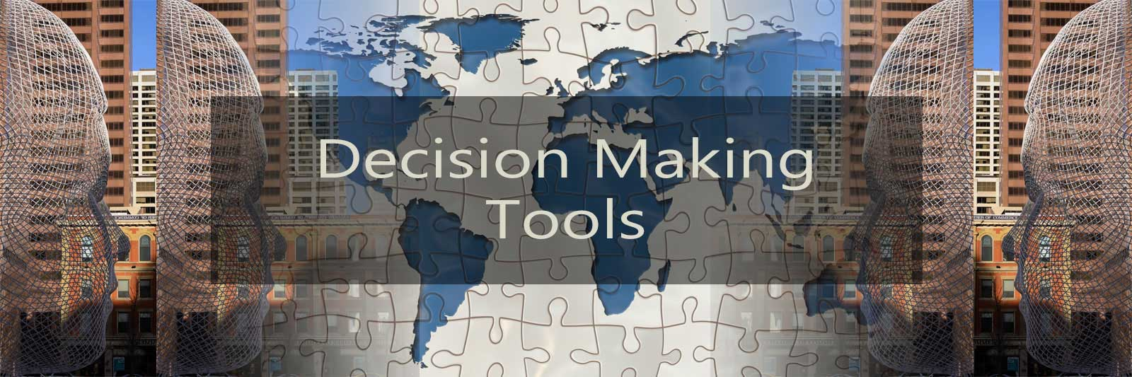 Un-biased decision processes that end with an actionable plan